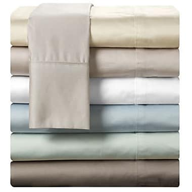 T-1000 Pima Cotton Deep Pocket Sheet Set, 1000 Thread Count, Queen, Beige