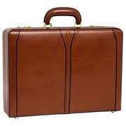 McKlein USA V Series Turner Leather Attache Case; Brown