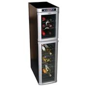 Koolatron 18 Bottle Dual Zone Freestanding Wine Refrigerator