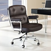 Modway Remix Mid-Back Office Chair; Brown