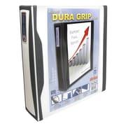 STOREX DuraGrip Heavy Duty View Binder; White/Dark Gray