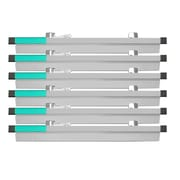 Adir Corp Blueprint File Hanging Clamps (Pack of 6); 18''