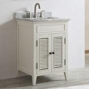 Vinnova Piedmont 24'' Single Vanity Set; Antique White