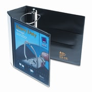 AVERY-DENNISON Nonstick Heavy-Duty Ezd Reference View Binder, 5'' Capacity; Navy Blue
