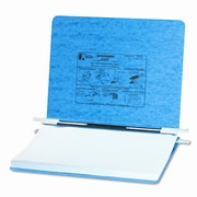 Acco Brands, Inc. Pressboard Hanging Data Binder, 11-3/4 x 8-1/2, Light Blue