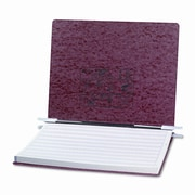 Acco Brands, Inc. Pressboard Hanging Data Binder, 14-7/8 x 11 Unburst Sheets, Red