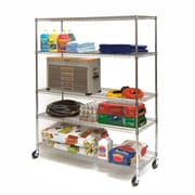 Seville Classics Supersized 72'' H Five Shelf Shelving Unit