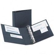AVERY-DENNISON Durable Slant Ring Reference Binder, 3'' Capacity; Dark Blue