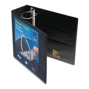 Avery 4'' Nonstick Heavy-Duty EZ D-Ring Reference View Binder; Black