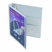 AVERY-DENNISON Nonstick Heavy-Duty EZD Reference View Binder, 1in Capacity, Navy Blue