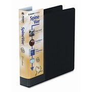 CARDINAL BRANDS INC. Spinevue EasyOpen Locking Slant-D Ring Binder; White