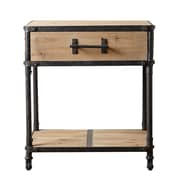 Abbyson Living Bixel Industrial End Table