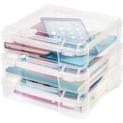 IRIS 8x8 Scrapbook Storage Case (Set of 6); 19.13'' H x 11.38'' W x 11.88'' D