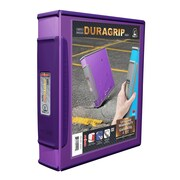 STOREX DuraGrip D-Ring View Binder (Set of 6); Purple