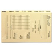 Smead Dividers for Mortgage File Folder, Eight/Set
