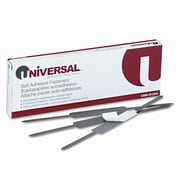 Universal Products Self-Adhesive Paper And File Fasteners, 2'' Capacity, 100 per Box