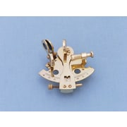 Handcrafted Nautical Decor Sextant Paperweight