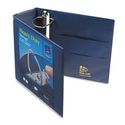 Avery 4'' Nonstick Heavy-Duty EZ D-Ring Reference View Binder; Navy Blue