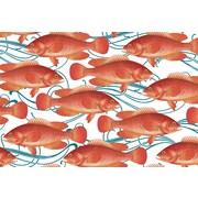 Caskata Fish Large Paper Placemat (40 Count)