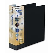 CARDINAL BRANDS INC. Spinevue EasyOpen Locking Slant-D Ring Binder; Black