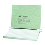 Acco Brands, Inc. Pressboard Hanging Data Binder, 14-7/8 x 11 Unburst Sheets; Light Green