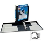 AVERY-DENNISON Nonstick Heavy-Duty EZD Reference View Binder, 1-1/2in Capacity; Black