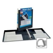 AVERY-DENNISON Nonstick Heavy-Duty EZD Reference View Binder, 1in Capacity; Navy Blue