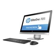 "HP P5U97UT#ABA Eliteone 705 G2 A Series A8 PRO-8650B 3.2Ghz, 500GB, 4GB RAM, LED 23"", Black/Silver"