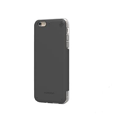 DualTek Pro iPhone 6/6S Plus Case, Black/Clear