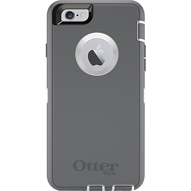 Étui Defender pour iPhone6/6S, blanc/gris