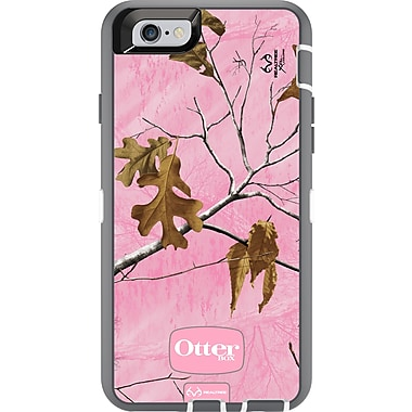 Defender Realtree Xtra iPhone 6/6S Case, Pink