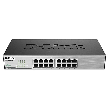 D-Link® DSS-16+ 16 Port Fast Ethernet Switch