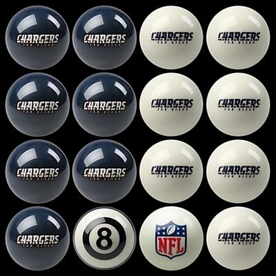 Imperial 16 Piece NFL Billiard Ball Set; San Diego Chargers WYF078276006487