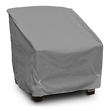 KoverRoos Weathermax Deep Seating High-Back Lounge Chair Cover; Grey