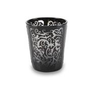 Impulse! Scroll Rock Glass (Set of 6); Black