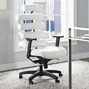 Modway Pillow High-Back Executive Office Chair; White