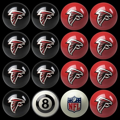 Imperial 16 Piece NFL Billiard Ball Set; Atlanta Falcons WYF078275920140