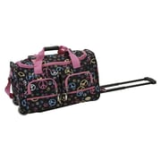 Rockland 22'' Travel Duffel with Shoulder Strap; Peace