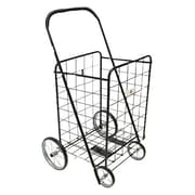 ATH Home 41'' Rolling Shopping Cart; Black