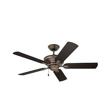Emerson Fans 52'' Veranda 5 Blade Ceiling Fan; Vintage Steel