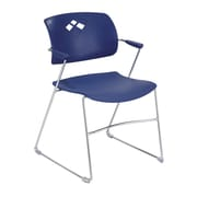Safco Products Veer Stacking Chair; Blue