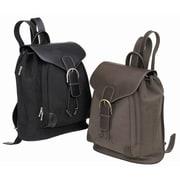 Preferred Nation Vintage Continental Backpack; Brown