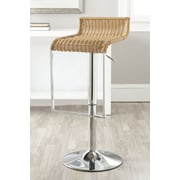 Safavieh Zandrea Adjustable Height Swivel Bar Stool