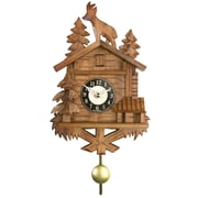 River City Clocks Quartz Movement Cuckoo Wall Clock