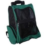 Aosom Deluxe Travel Pet Carrier; Green
