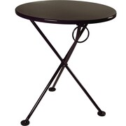 Furniture Designhouse European Caf  28''  3-leg Folding Bistro Table
