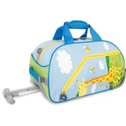 J World Kids Rolling Duffel; Savanna