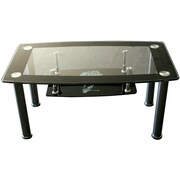 Hodedah Striking Coffee Table