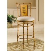 Hillsdale West Palm 30'' Swivel Bar Stool with Cushion