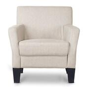 Wholesale Interiors Baxton Studio Silhouettes Club Chair; Beige
